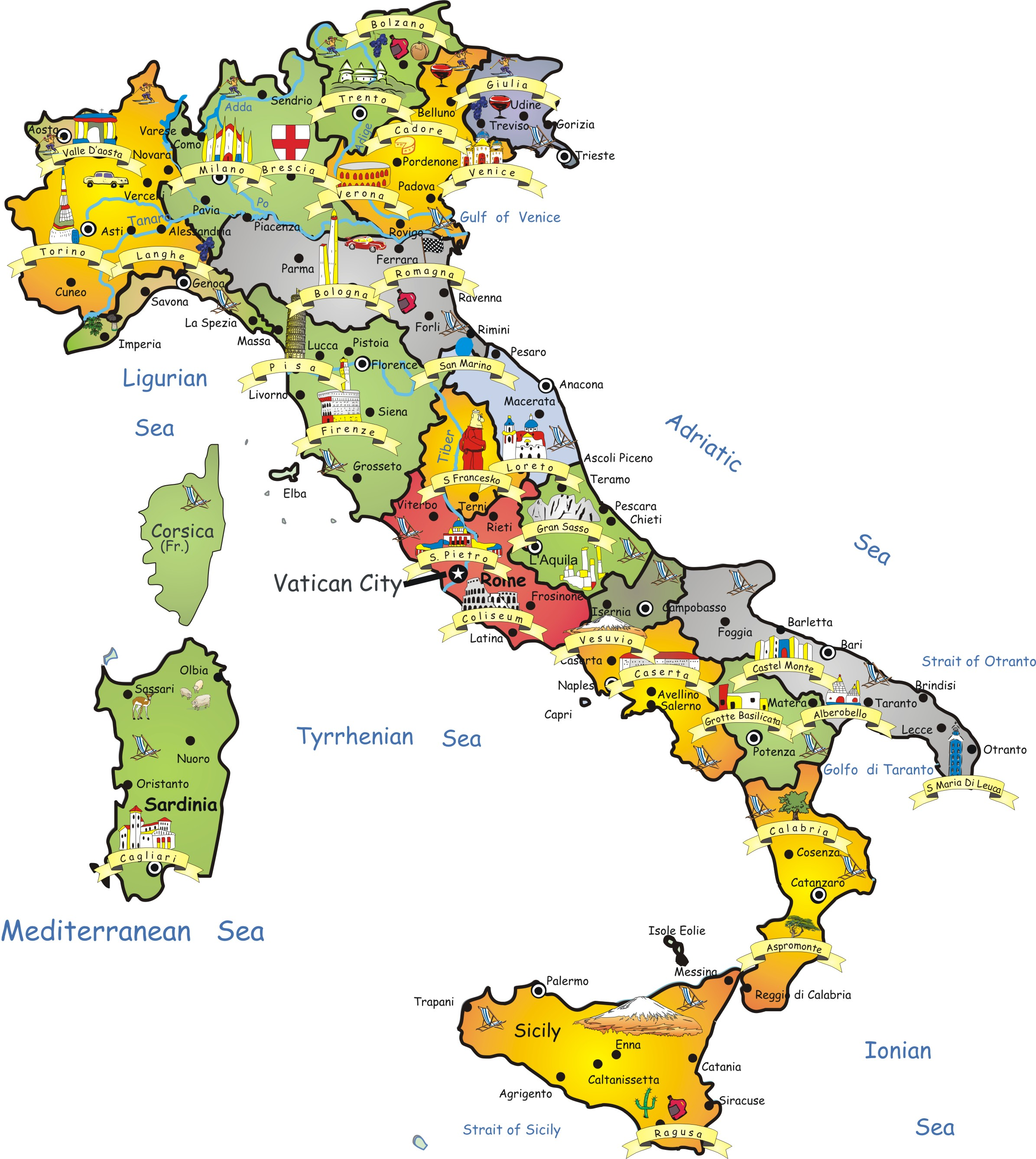 maps of italy | elder craig jones